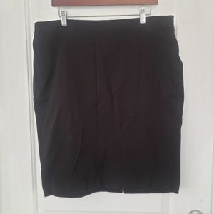 3/$25 Ashley Stewart black pencil skirt size 16